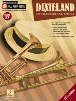 Jazz Play-Along Volume 87: Dixieland Books and CDs | C Instruments, Bass Clef Instruments, E Flat Instruments, B Flat Instruments