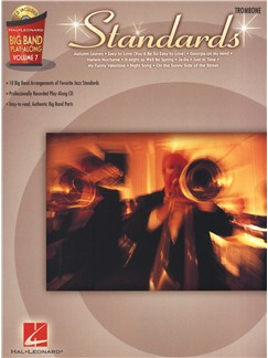 Big Band Play-Along Volume 7: Standards - Trombone Books and CDs | Trombone