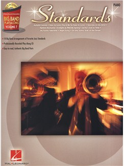 Big Band Play-Along Volume 7: Standards - Piano Books and CDs   Piano