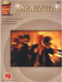 Big Band Play-Along Volume 7: Standards - Drums Books and CDs | Drums
