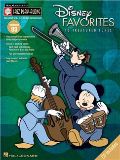 Jazz Play-Along Volume 93: Disney Favourites Books and CDs | All Instruments