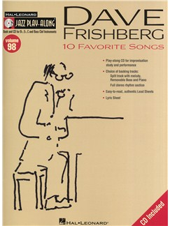 Jazz Play-Along: Dave Frishberg: 10 Favourite Songs (Book & CD) Books and CDs | All Instruments