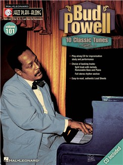 Jazz Play-Along Volume 101: Bud Powell Books and CDs | B Flat Instruments, E Flat Instruments, C Instruments, Bass Clef Instruments