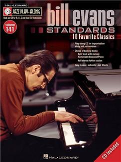 Jazz Play-Along Volume 141: Bill Evans Standards Books and CD-Roms / DVD-Roms | B Flat Instruments, Bass Clef Instruments, C Instruments