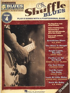 Blues Play-Along Volume 4: Shuffle Blues Books and CDs | E Flat Instruments, B Flat Instruments, Bass Clef Instruments, C Instruments