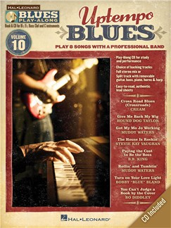 Blues Play-Along Volume 10: Uptempo Blues Books and CDs | E Flat Instruments, B Flat Instruments, C Instruments, Bass Clef Instruments