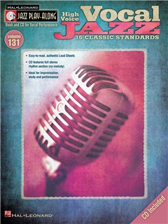 Jazz Play-Along Volume 131: Vocal Jazz (High Voice) Books and CDs   High Voice