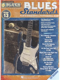 Blues Play-Along Volume 13: Blues Standards CD et Livre | Instruments À Bb, Instruments À Eb, Instruments À Basse, Instruments À C