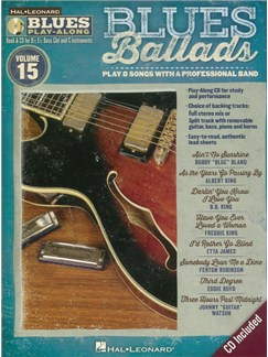 Blues Play-Along Volume 15: Blues Ballads Books and CDs | B Flat Instruments, E Flat Instruments, Bass Clef Instruments, C Instruments