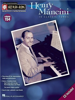 Jazz Play-Along Volume 154: Henry Mancini Books and CDs | C Instruments, B Flat Instruments, E Flat Instruments, Bass Clef Instruments