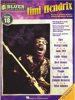 Jimi Hendrix: Blues Play-Along - Volume 18 Books and CDs | B Flat Instruments, E Flat Instruments, Bass Clef Instruments, C Instruments