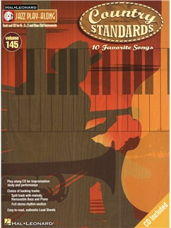 Jazz Play-Along Volume 145: Country Standards Books and CDs | B Flat Instruments, E Flat Instruments, C Instruments, Bass Clef Instruments