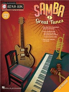 Jazz Play-Along Volume 147: Samba Books | B Flat Instruments, C Instruments, E Flat Instruments