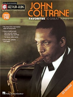 Jazz Play-Along Volume 148: John Coltrane Favorites Books and CDs | B Flat Instruments, E Flat Instruments, C Instruments, Bass Clef Instruments