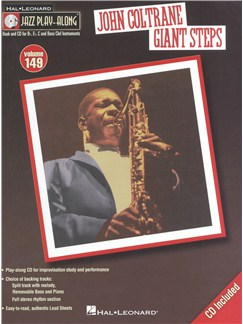 Jazz Play-Along Volume 149: John Coltrane – Giant Steps Books and CDs | B Flat Instruments, E Flat Instruments, C Instruments, Bass Clef Instruments