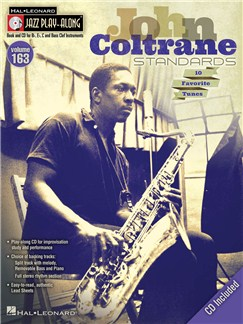 Jazz Play-Along Volume 163: John Coltrane Standards Books and CDs | B Flat Instruments, E Flat Instruments, Bass Clef Instruments, C Instruments