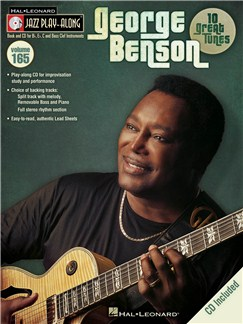Jazz Play-Along Volume 165: George Benson Books and CDs | B Flat Instruments, E Flat Instruments, C Instruments, Bass Clef Instruments