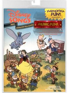 Harmonica Fun! Disney Songs from Animated Film Classics Books | Harmonica