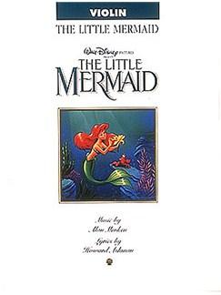 Alan Menken: The Little Mermaid For Violin Books | Violin
