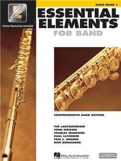Essential Elements 2000: Flute Book 1 (Book/CD-ROM) Books and CD-Roms / DVD-Roms | Flute
