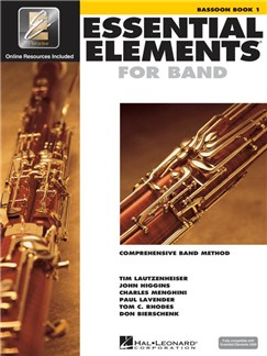 Essential Elements 2000: Bassoon Book 1 (Book/CD-ROM) Books and CD-Roms / DVD-Roms | Bassoon