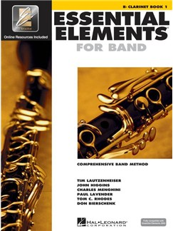 Essential Elements 2000: Clarinet Book 1 (Book/CD-ROM) Books and CD-Roms / DVD-Roms | Ensemble, Clarinet