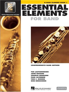 Essential Elements 2000: Bass Clarinet Book 1 (Book/CD-ROM) Books and CD-Roms / DVD-Roms | Ensemble, Bass Clarinet