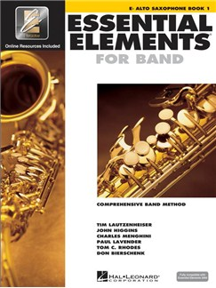 Essential Elements 2000: Alto Saxophone Book 1 (Book/Online Audio) Books and Digital Audio | Alto Saxophone