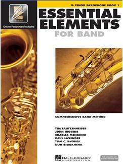 Essential Elements 2000: Tenor Saxophone Book 1 (Book/CD-ROM) Books and CD-Roms / DVD-Roms | Tenor Saxophone