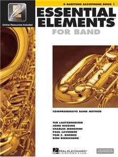 Essential Elements 2000: Baritone Saxophone Book 1 (Book/CD-ROM) Books and CD-Roms / DVD-Roms | Baritone Saxophone