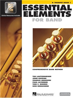 Essential Elements 2000: B Flat Trumpet Book 1 (Book/CD/DVD) CD-Roms / DVD-Roms et Livre | Trompette