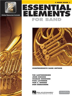 Essential Elements 2000: Horn Book 1 (DVD Edition) CD-Roms / DVD-Roms et Livre | Cor