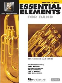 Essential Elements 2000: Baritone Treble Clef Book 1 (Book/CD-ROM) Books and CD-Roms / DVD-Roms | Baritone