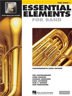 Essential Elements 2000: Tuba Book 1 (Book/CD-ROM) Books and CD-Roms / DVD-Roms | Tuba