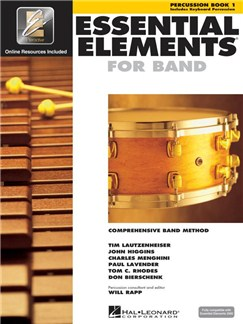 Essential Elements 2000 - Percussion Book 1 (Book/CD-ROM) Books and CD-Roms / DVD-Roms | Percussion, Drums