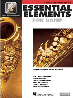 Essential Elements 2000: E Flat Alto Saxophone - Book 2 Books and CDs | Alto Saxophone, Ensemble