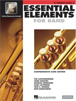 Essential Elements 2000: Trumpet Book 2 Books and CDs | Trumpet