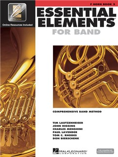 Essential Elements 2000 - Horn In F Book 2 Books and CDs | French Horn