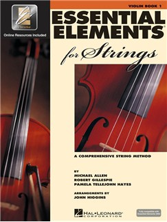 Essential Elements For Strings: Violin Book 1 (Book/Online Audio) Books and Digital Audio | Violin
