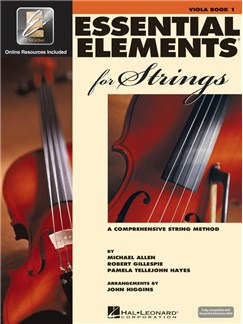 Essential Elements 2000: Viola Book 1 (Book/CD-ROM) Books and CD-Roms / DVD-Roms | Viola