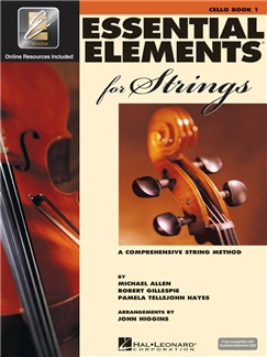 Essential Elements 2000: Cello Book 1 (Book/CD-ROM) Books and CD-Roms / DVD-Roms | Cello