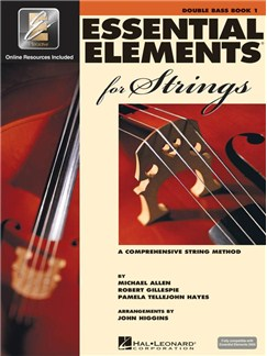 Essential Elements 2000: Double Bass Book 1 (Book/CD-ROM) Books and CD-Roms / DVD-Roms | Double Bass