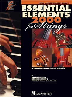 Essential Elements 2000 For Strings: Piano Accompaniment Book 1 Books | Piano Accompaniment