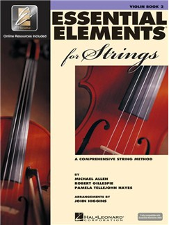 Essential Elements 2000 For Strings - Violin Book 2 CD et Livre | Violon