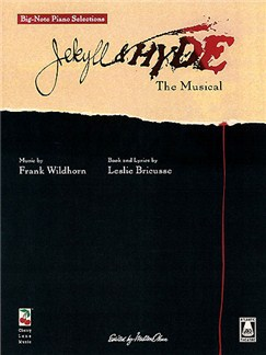 Jekyll & Hyde The Musical - Big Note Vocal Selections Books | Voice