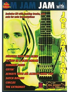 Jam With Joe Satriani Books and CDs | Guitar Tab, with chord symbols