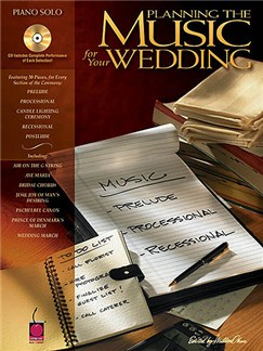Planning The Music For Your Wedding Books and CDs | Piano