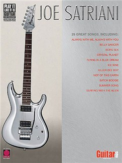 Joe Satriani: Anthology Books | Guitar Tab