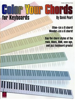 David Pearl: Color Your Chords Books | Keyboard