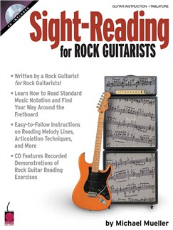 Sight Reading for Rock Guitarists Books and CDs | Guitar Tab